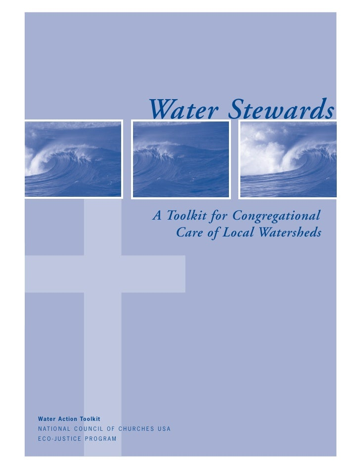 ✝                                           Water Stewards                                              A Toolkit for Cong...