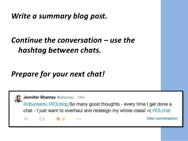 Collect and curate chat resources. Set up a chat website or landing page.