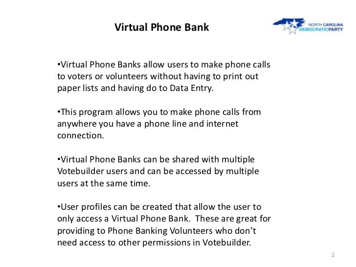 NCDP Step by Step Guide to Virtual Phone Banking