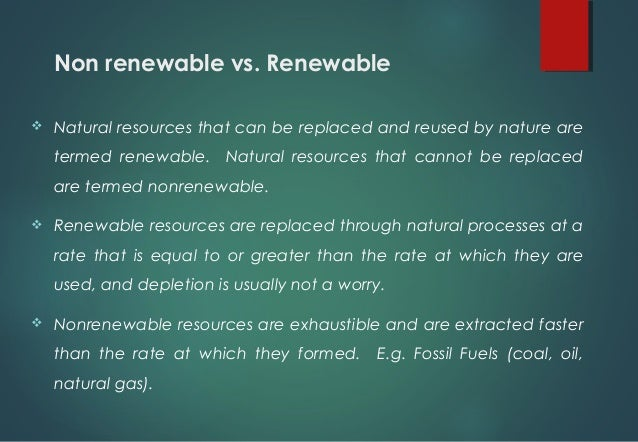 Disadvantages On The Depletion Of Natural Resources