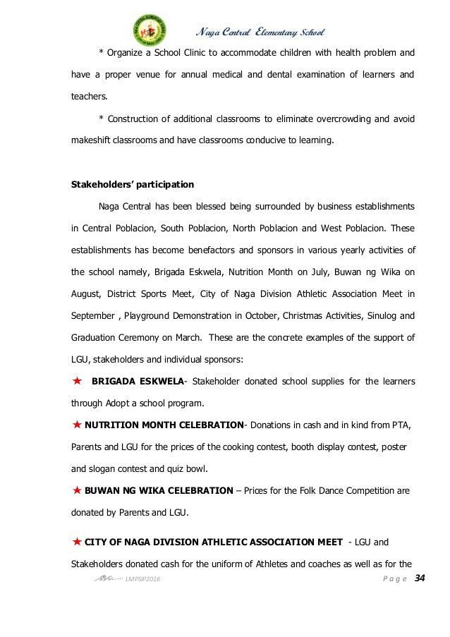 Nces school improvement plan s y  2016 2019