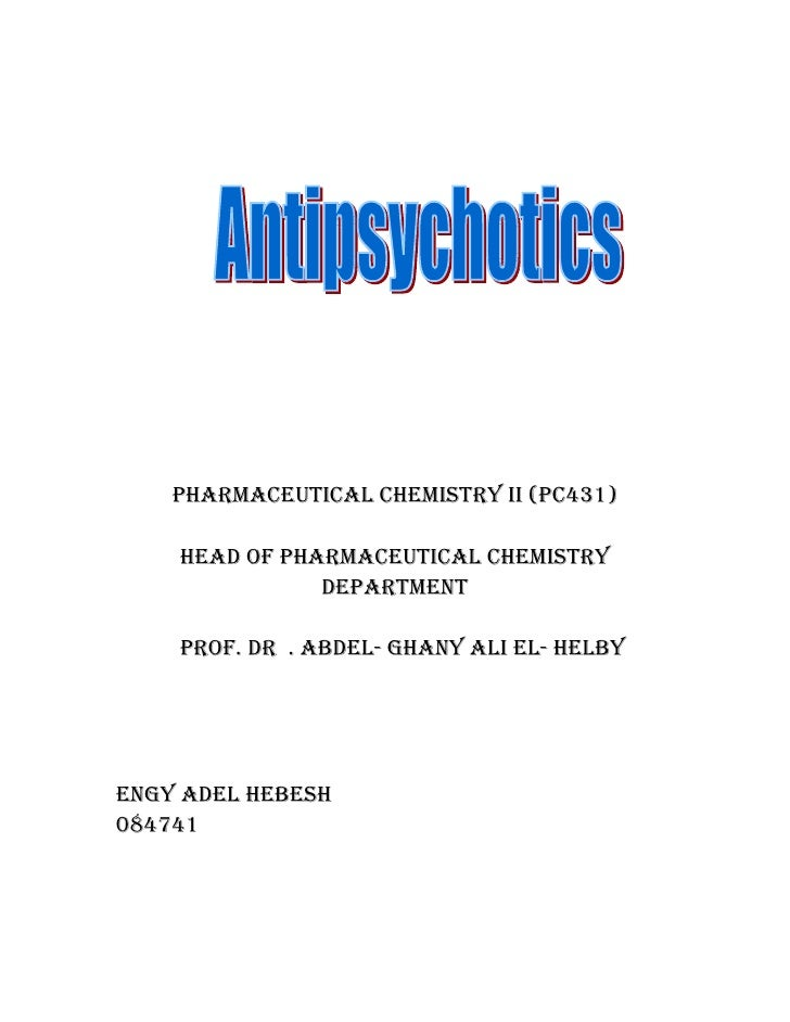 Pharmaceutical chemistry ii (Pc431)      head of Pharmaceutical chemistry                dePartment      Prof. dr . abdel-...
