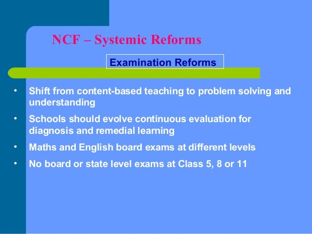 Ncf 2005 for school education