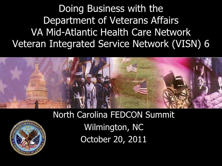 Doing Business with the      Department of Veterans Affairs    VA Mid-Atlantic Health Care NetworkVeteran Integrated Servi...