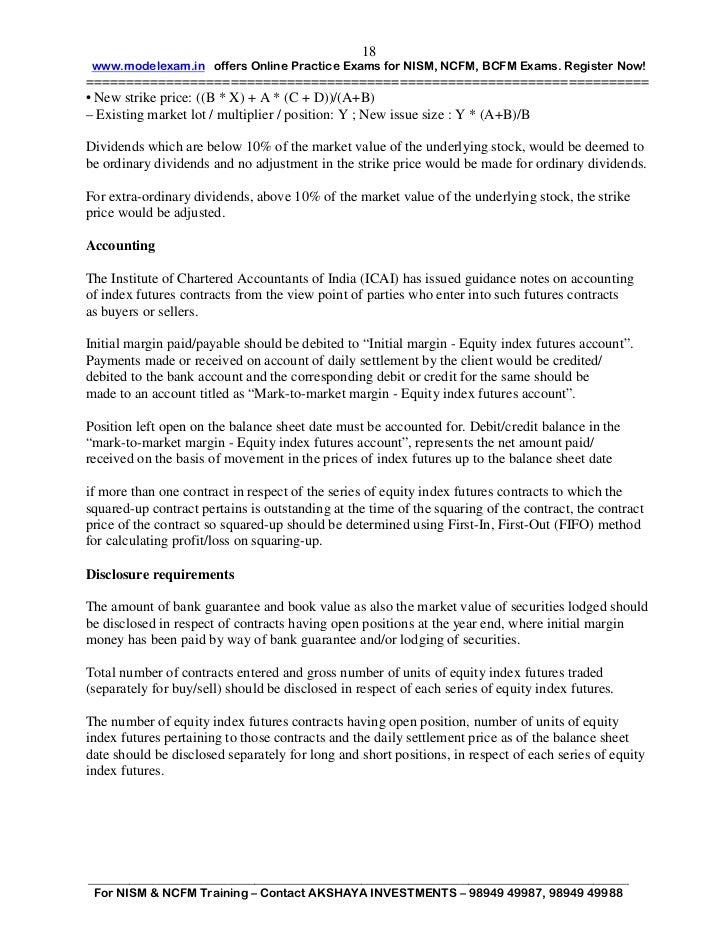 Derivatives market dealers module pdf