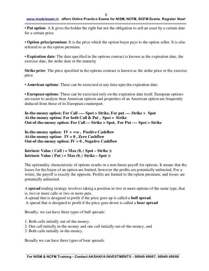 Dealers ncfm capital pdf market module