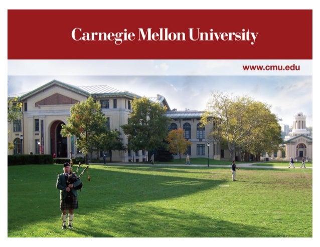 Carnegie MellonUniversity & CitiesDonald K. Carter, FAIA FAICP LEED ND  Director, Remaking Cities Institute        School ...
