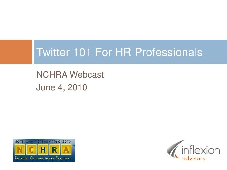 Twitter 101 for HR Professionals