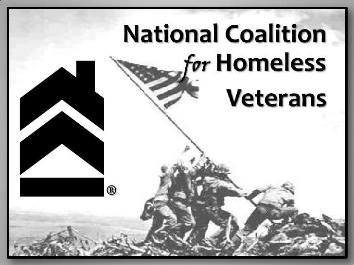 National Coalition                                        <br />for Homeless          <br />Veterans<br />®<b...