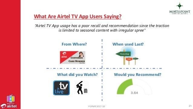 OTT & digitization - Focus on Airtel TV App