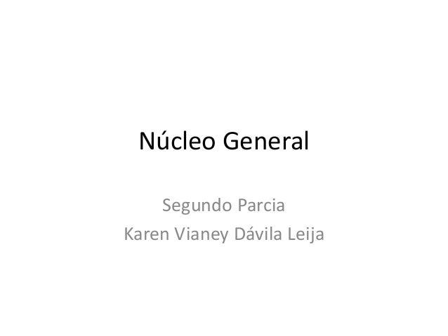 Núcleo General    Segundo ParciaKaren Vianey Dávila Leija