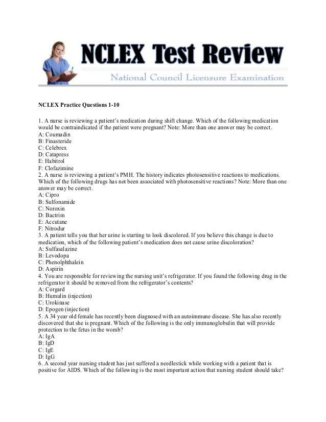 Nclex test review