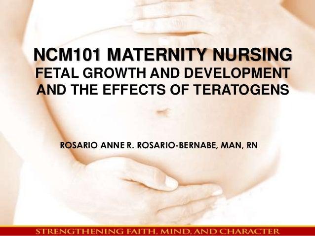 NCM101 MATERNITY NURSI...