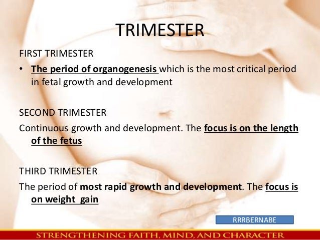Trimester Fetal Growth...