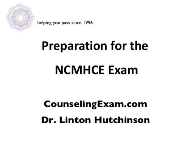 Ncmhce exam preparation