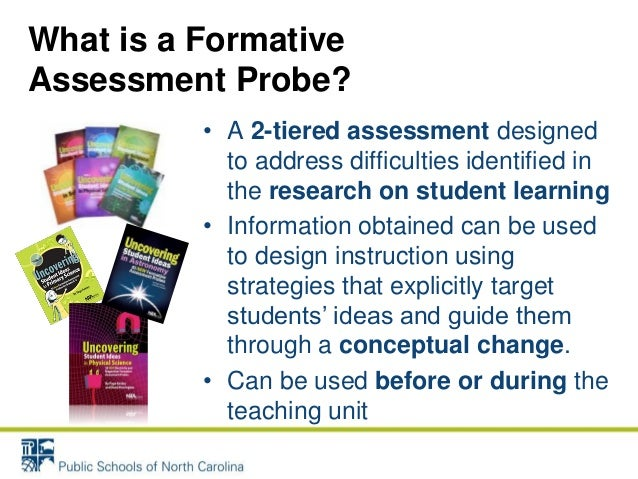 Formative Assessment In The  Science Classroom