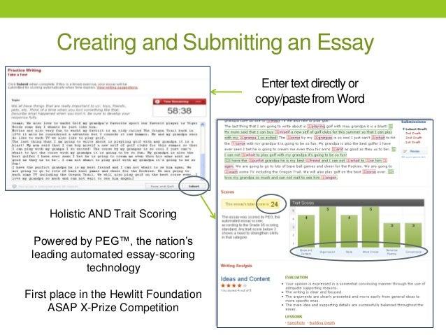 essay scorer woodstock middle