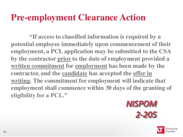 How To Guide Your Employee During The Clearance Process