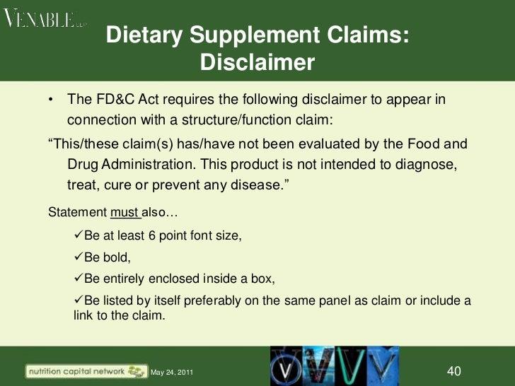 ew dietary ingredient ndi notification document
