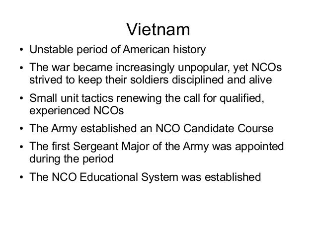 nco history Essays - largest database of quality sample essays and research papers on history of marine nco.