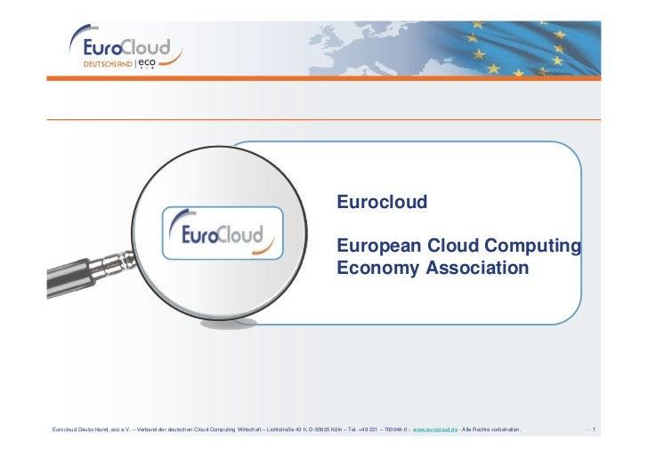 Eurocloud                                                                                                                 ...