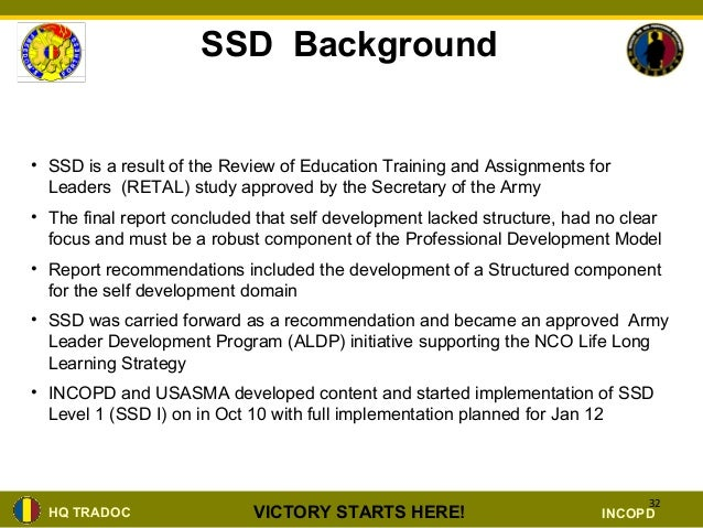 nco structured self development brief ppt rh slideshare net Self Structured Development Exam Answers Structured Self-Development Certificate