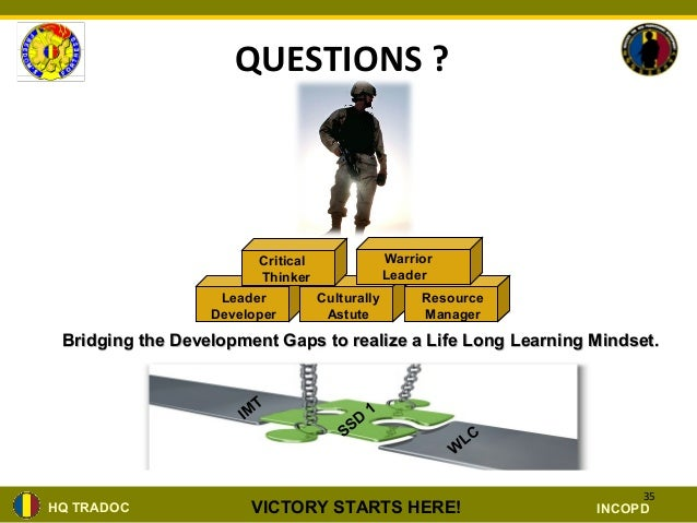 Nco structured self_development_brief ppt