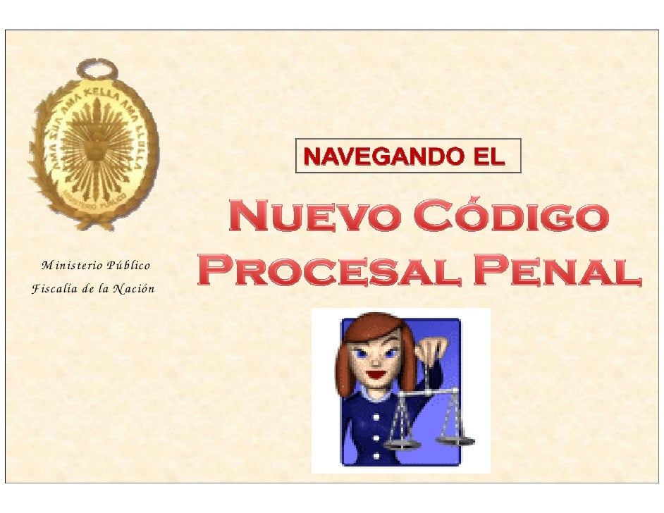 M inisterio Público Fiscalía de la N ación