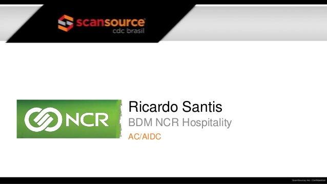 Ricardo Santis BDM NCR Hospitality AC/AIDC