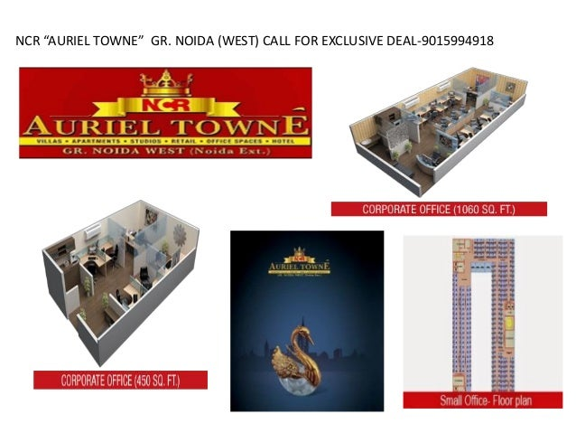 """NCR """"AURIEL TOWNE"""" GR. NOIDA (WEST) CALL FOR EXCLUSIVE DEAL-9015994918"""