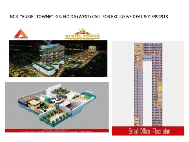 "NCR ""AURIEL TOWNE"" GR. NOIDA (WEST) CALL FOR EXCLUSIVE DEAL-9015994918"