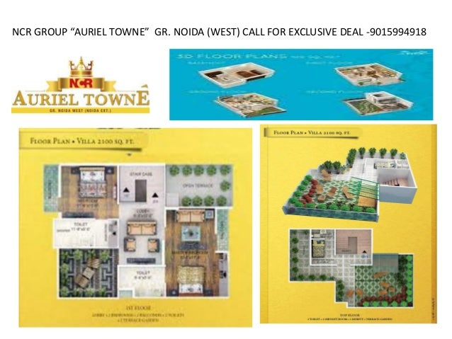"NCR GROUP ""AURIEL TOWNE"" GR. NOIDA (WEST) CALL FOR EXCLUSIVE DEAL -9015994918"