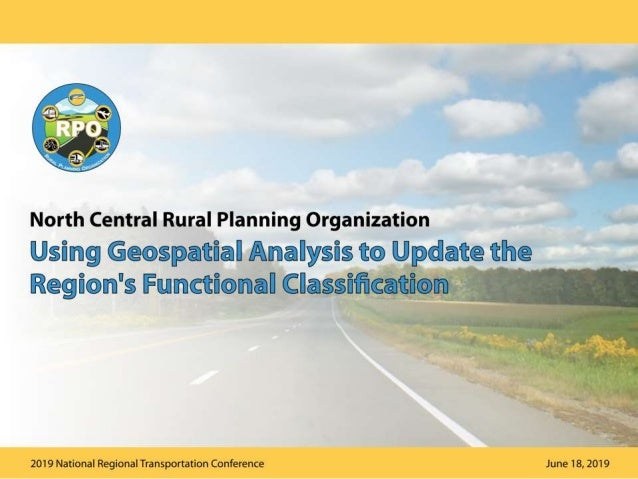 What is Roadway Functional Classification?