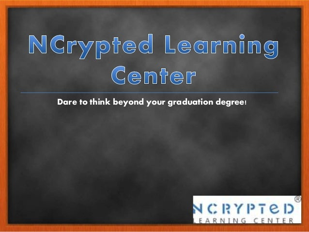 Dare to think beyond your graduation degree!