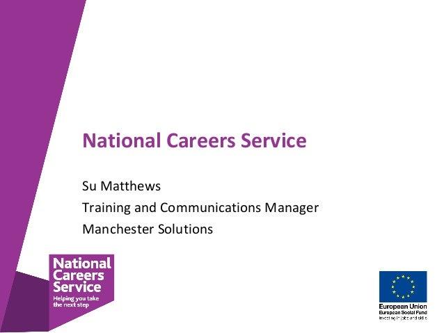 national careers service presentation