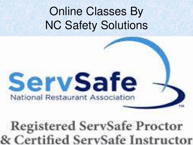 Online Servsafe Classes in Norh Carolina