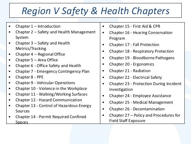 14 elements of a successful safety Topic four health & safety management injuries etc systems approach four elements common to general systems theories are input, process, output and key elements of a h&s management system policy effective health and safety policies set a clear direction for the organisation to.