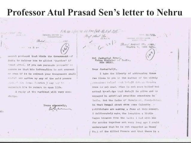 "Professor Atul Prasad Sen's letter to Nehru  A nnnliu . .» r 1:"" '-. _ I -. '.us new      1;""! /rd',   1:. '-0.1"""":  P""D¢...."