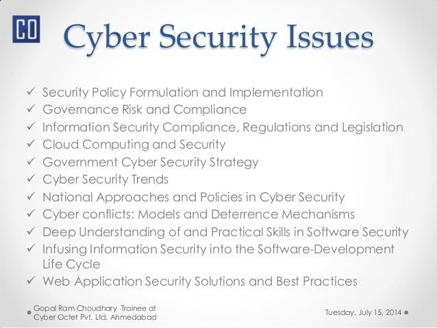 National Cyber Security Policy 2013 Ncsp