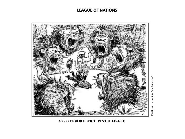 An analysis of the topic of the league of nations