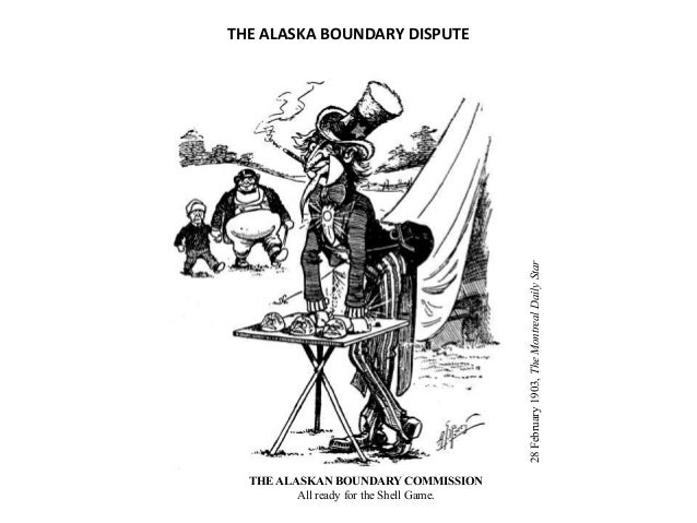 the alaska boundary dispute between canada and the united states in 1898 List of united states military history events  1898, the united states declared war with spain  alaska boundary dispute (1907, us-canada) red river bridge.