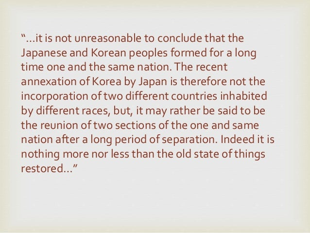 an analysis of the japanese colonialism in korea This study examines how the concept of korean woman underwent a radical  transformation in korea's public discourse during the years of japanese.