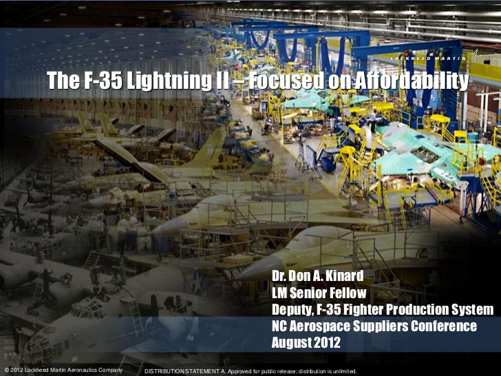 The F-35 Lightning II – Focused on Affordability                                                                          ...