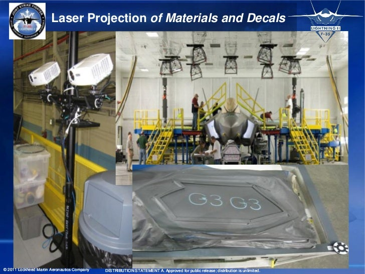 Laser Projection of Materials and Decals© 2011 Lockheed Martin Aeronautics Company   DISTRIBUTION STATEMENT A. Approved fo...