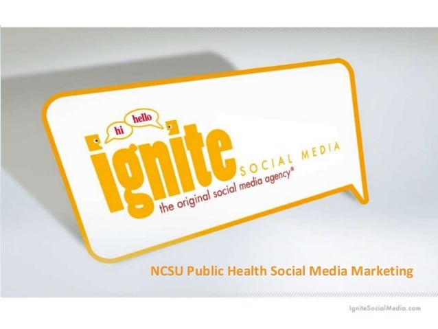 NCSU Public Health Social Media Marketing