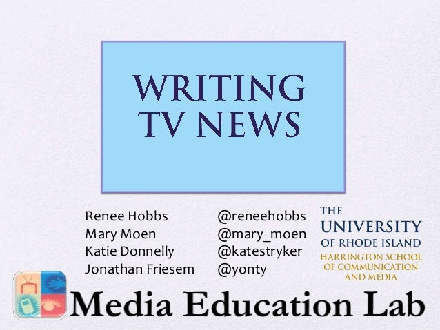 Renee Hobbs Mary Moen Katie Donnelly Jonathan Friesem  @reneehobbs @mary_moen @katestryker @yonty