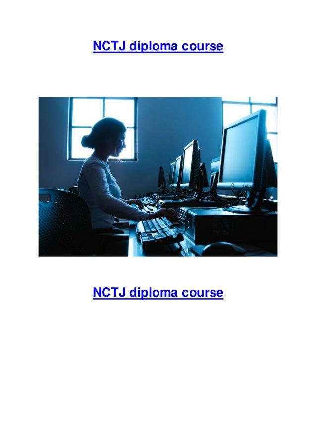 NCTJ diploma course  NCTJ diploma course
