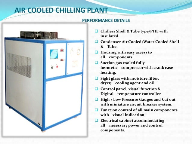 Cooling Tower Amp Chilling Plants