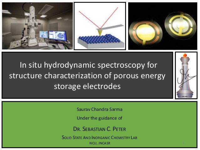 In situ hydrodynamic spectroscopy for structure characterization of porous energy storage electrodes Saurav Chandra Sarma ...
