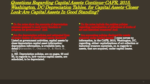 cafr analysis Home → financial reporting & analysis  certificate of achievement for excellence in financial reporting for the fy16 comprehensive annual financial report (cafr .